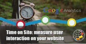 Time on Site: measure user interaction