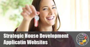A Strategic Housing Development Website with Applications and Drawings