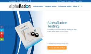 alphaRadon - home and commercial radon testers